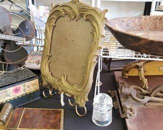 vintage decor, primitive wood bowl