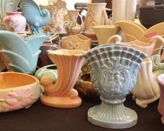 Hull, Roseville, Shawnee, McCoy Pottery