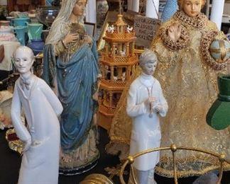 religious Icon, statues, figurines