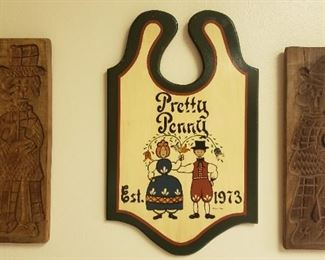 Dutch pastry molds, wall decor