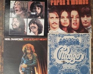 Vinyl albums, records