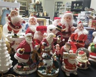 Santas, Vintage Christmas