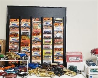 vintage toy cars, Matchbox cars