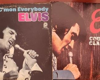 Elvis LPs