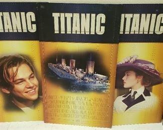 Titanic Movie Promotional Advertisements