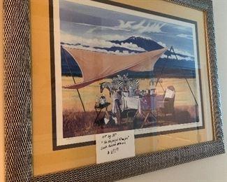 """#18 Sherrie Hatchett Bohlmann  """"The Majesty of Kilimanjaro"""" $650"""