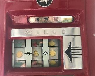 Second photo -- Mills slot machine