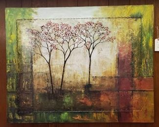 VERY LARGE Contemporary Landscape Painting