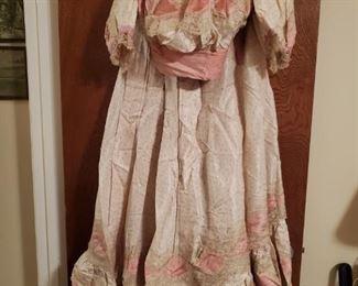 Mid-1800's Victorian Wedding Dress