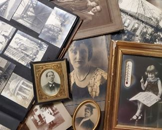 A Sampling of the Huge amount of VINTAGE PHOTOS & ADVERTISING