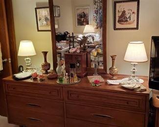 MCM Double Dresser & Mirror