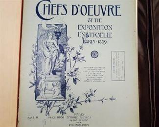 """1889 PARIS EXHIBIT """"INDIA FOLIO"""" ENGRAVED PRINTS"""