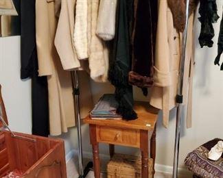 Furs & Vintage Phone Stand