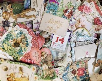 VICTORIAN 1860'S VALENTINE CARDS