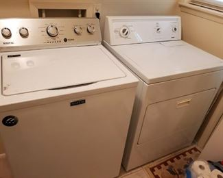 MAYTAG WASHER with AGITATOR...KENMORE ELECTRIC DRYER