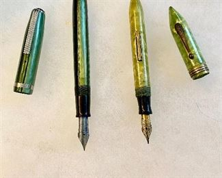 Additional photo of fountain pens.