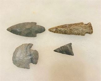 Indian Artifacts - Missouri found. (4) $50