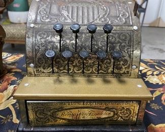 Antique Ben Franklin Toy Cash Register