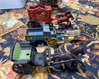 Antique Cast Iron Toys