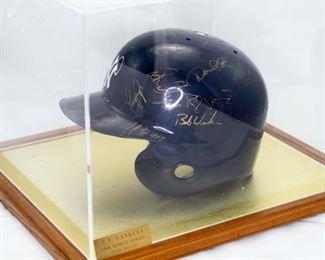 NY Yankees extremely rare Batting Helmet with COA.