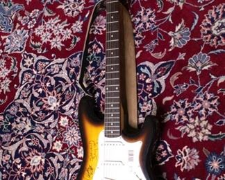 An Original Dickey Betts Autographed Electric Guitar.