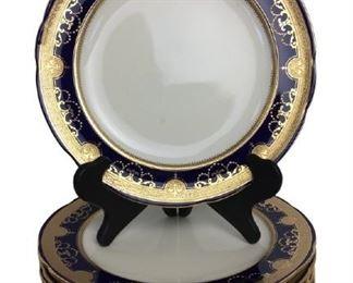 Tiffany &co. Gold rim plates