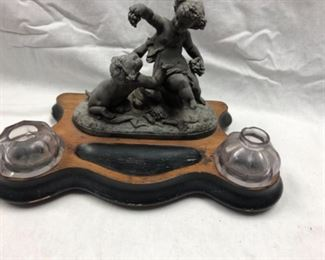 Inkwell statuette