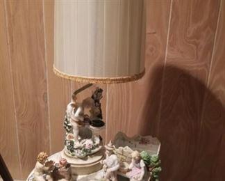 Porcelain & lamps
