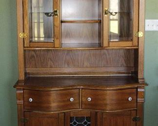 "Pulaski Furniture Company Keepsake Collection Golden Oak China Cabinet (49""W x 19""D x 78""H)"