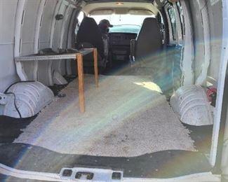 2007 Chevy 2500 cargo van 103k miles New transmission $6200