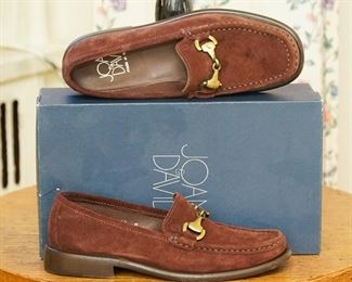 Joan and David suede loafers
