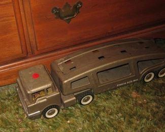 Vintage Car Hauler