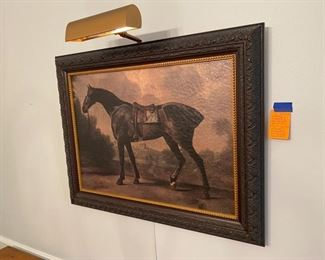 6- Horse Art work decorative - not an original painting $50