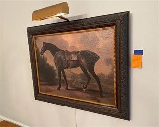 6- Horse Art work decorative - not an original painting $50