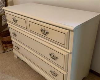 White Bassett Dresser