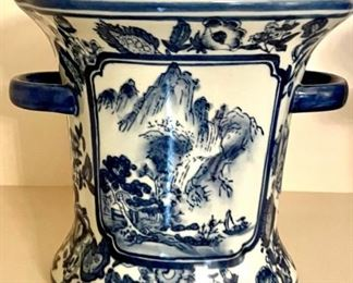 loads of blue-and-white porcelain at this sale