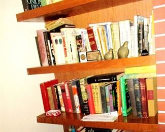 Books: Vintage novels and various historical and political themes