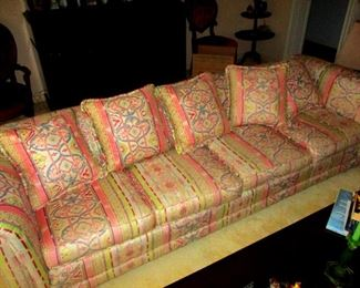 Silk Sofa in immaculate condition