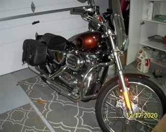 2009 Harley-Davidson Sportster Touring Bike . Color is a Light Rootbeer and Dark Rootbeer. It only has 30 miles on it. It has New Battery, Oil & Oil Filter, Spark plugs, Gas pump & Filter , plus gas tank was flushed & cleaned.