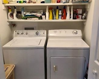 GE washer and Frigidaire Gallery dryer