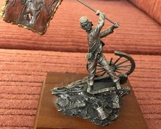 """Francis J Barnum Pewter  """"Georgia  Colors"""". Signed and numbered 687/2500"""