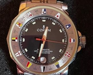 Corum Admirals Cup 982.530.20 Chronometer Automatic Watch Stainless Steel