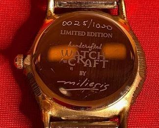 Milieris WatchCraft Artist Watch Limited Edition 0025/1000