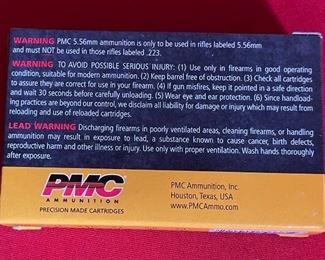 PMC X-TAC 5.56mm 62Gr LAP Ammunition 1000Rd Case