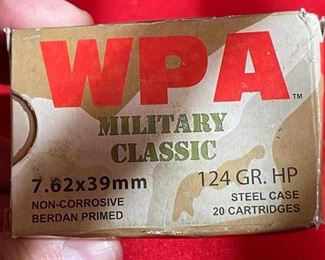 WOLF WPA 7.62 124gr 640 rounds Military Classic