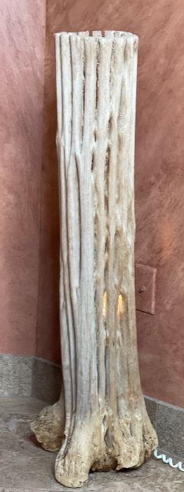 Saguaro Cactus Skeleton Lamp38x10x8in