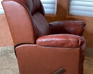 #1 Lane Furniture Leather Recliner43x38x38inHxWxD