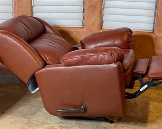 #2 Lane Furniture Leather Recliner43x38x38inHxWxD