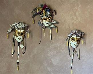 Priced Separately Otto Bassano Masquerade Mask Venice Italy Venetian