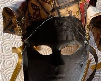 #1 Otto Bassano Masquerade Mask Venice Italy Venetian24x10x6inHxWxD